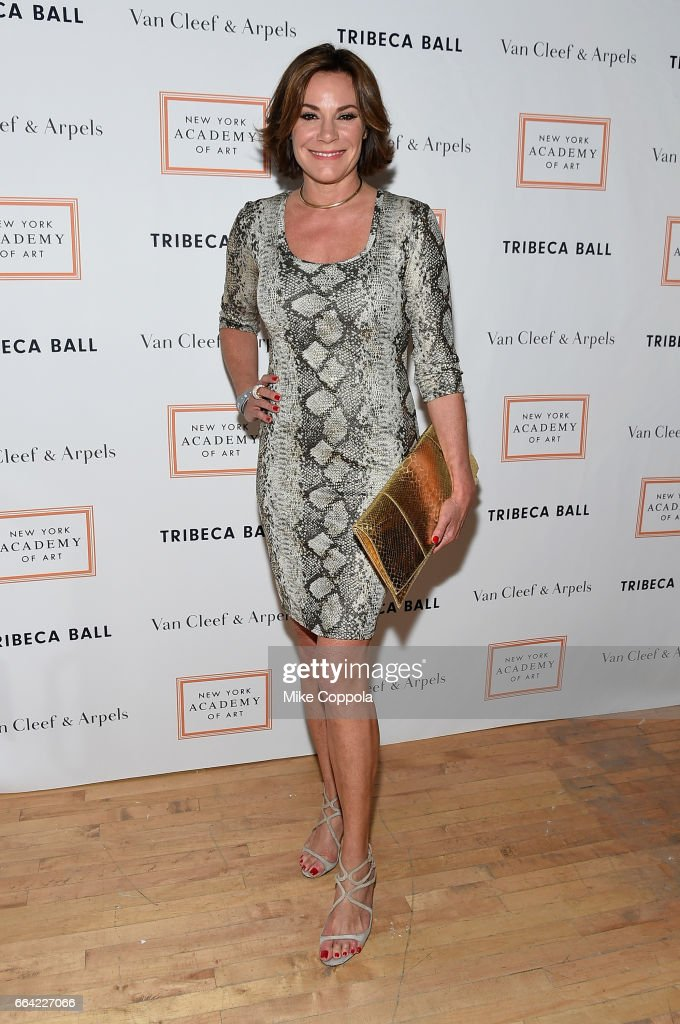 Luann de Lesseps attends the 2017 Tribeca Ball at the New York Academy of Art on April 3, 2017 in New York City.