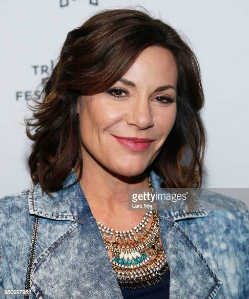 Luann de Lesseps attends the 2018 Tribeca Studios and MCM Sneak Preview Of Women's Hip Hop At Public Hotel on April 24 2018 in New York City