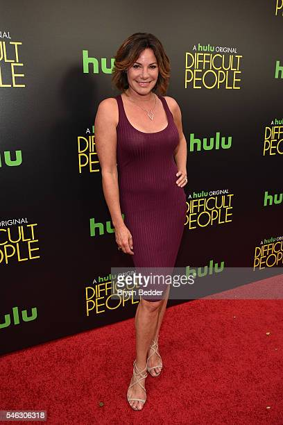 Luann De Lesseps attends the Hulu Original Difficult People premiere at Metrograph on July 11 2016 in New York City
