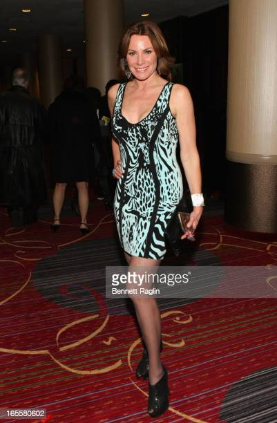 LuAnn de Lesseps attends the Media Opening for Kinky Boots on Broadway 'KinkyBway' at the Al Hirschfeld Theatre on April 4 2013 in New York City
