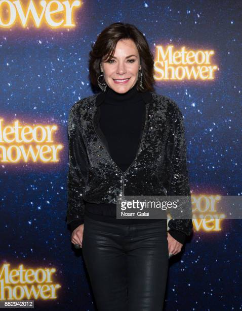 Luann de Lesseps attends the 'Meteor Shower' opening night on Broadway on November 29 2017 in New York City