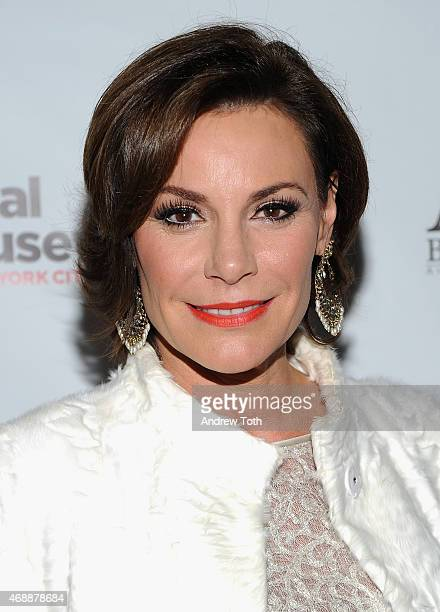 Luann De Lesseps attends the 'Real Housewives of New York City' season 7 series viewing party at AOA Bar Grill on April 7 2015 in New York City