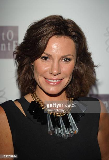 LuAnn de Lesseps attends the 'Sing For The Cause' charity dinner at Appetito Ristoreante on October 14 2011 in New York City