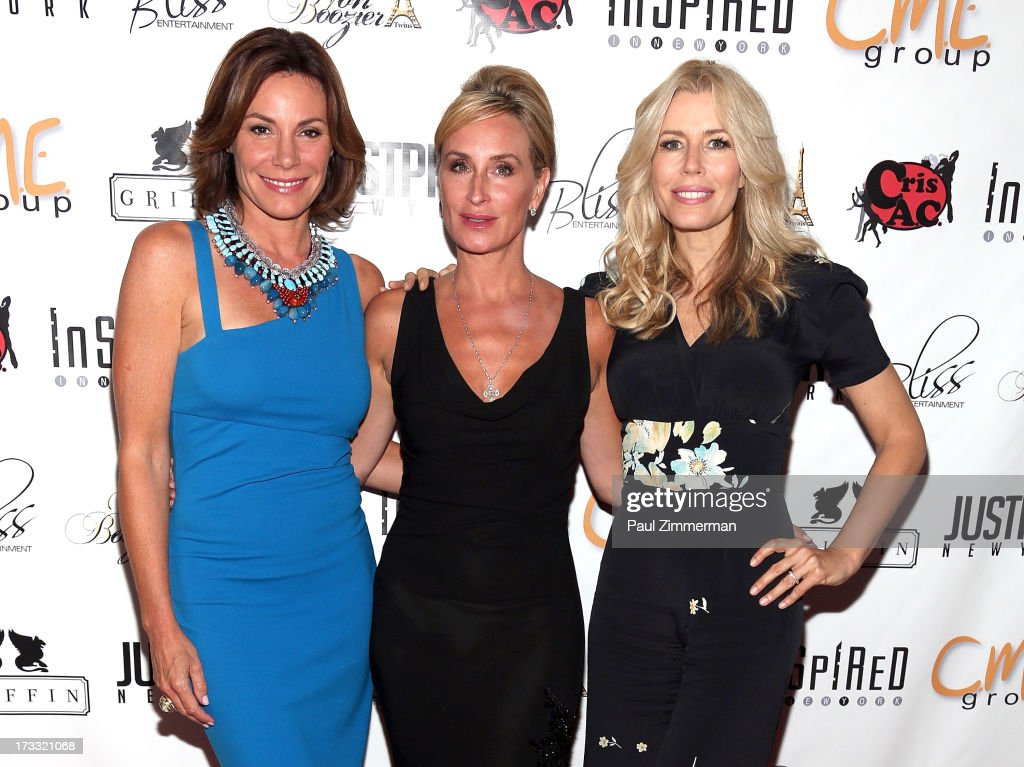 LuAnn de Lesseps, Sonja Morgan and Aviva Drescher attend 'Inspired In New York' event on July 11, 2013 in New York, United States.