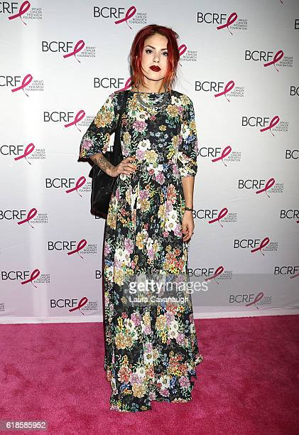 Luanna Perez attends 2016 Breast Cancer Research Foundation Award Luncheon at The Waldorf=Astoria on October 27 2016 in New York City