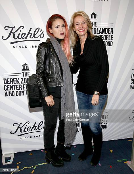 Luanna PerezGarreaud and Kiehl's General Manager Worldwide Cheryl Vitali attend The Derek Zoolander Center For People Who Don't Age Good Opening on...