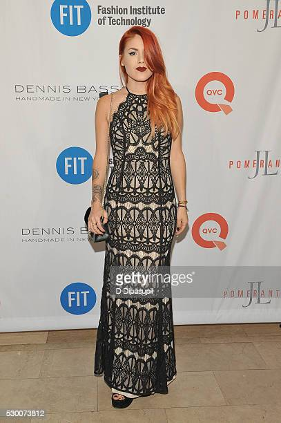 Luanna PerezGarreaud attends FIT's Annual Gala to Honor Dennis Basso John and Laura Pomerantz and QVC at the Grand Ballroom at The Plaza Hotel on May...