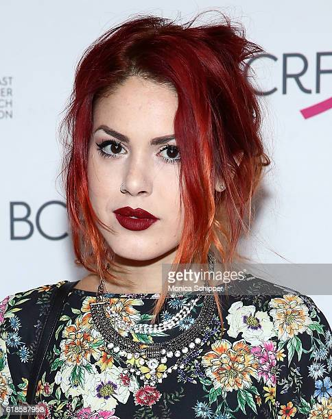 Luanna PerezGarreaud attends the 2016 Breast Cancer Research Foundation Award Luncheon at The Waldorf Astoria on October 27 2016 in New York City