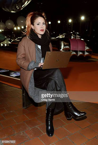 Luanna PerezGarreaud attends the Dell XPS Gold at Opening Ceremony NYFW 2016 on February 14 2016 in New York City