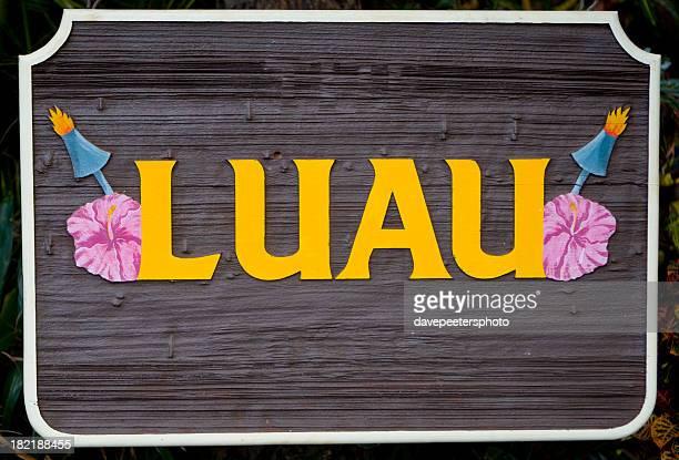 Luau Sign