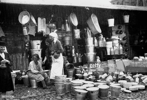 Lublin ghetto The market By 1935 LEI22239
