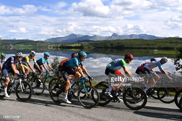 Lubomir Petrus of Czech Republic and Team Alpecin-Fenix, Stefan De Bod of South Africa and Team Astana – Premier Tech, Alexander Kristoff of Norway...