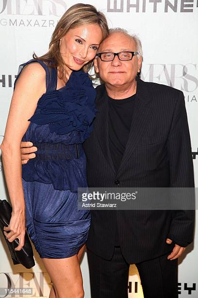 Lubov Azria and Max Azria attend the 2009 Whitney Contemporaries Art Party and auction at Skylight on June 17, 2009 in New York City.