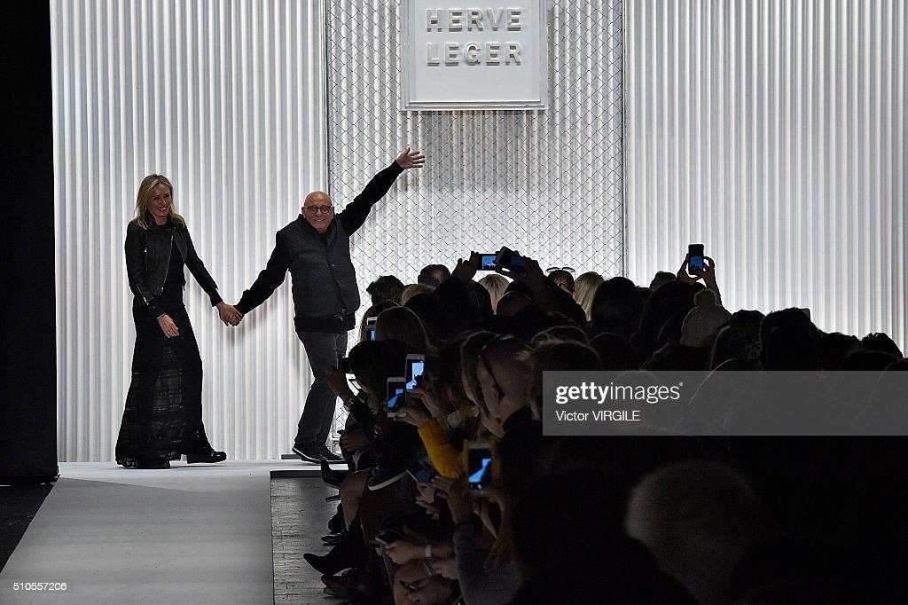 Herve Leger By Max Azria - Runway - Fall/Winter 2016 New York Fashion Week : News Photo