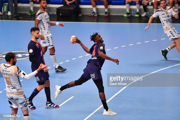 St Raphael coach Joel Da Silva during the Lidl Starligue match between Paris Saint Germain and St Raphael at Salle Pierre Coubertin on September 20...