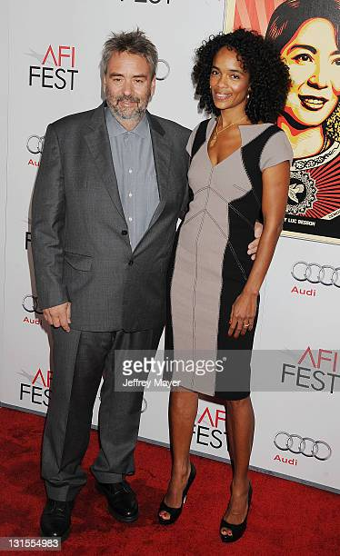 """Luc Besson and Virginie Silla attend the AFI Fest 2011 Special Screening Of """"The Lady"""" held at the Grauman's Chinese Theatre on November 4, 2011 in..."""