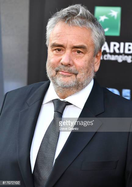 Luc Besson arrives at the Premiere Of EuropaCorp And STX Entertainment's 'Valerian And The City Of A Thousand Planets' at TCL Chinese Theatre on July...