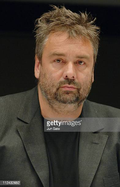 Luc Besson during 'AngelA' Tokyo Press Conference at Marunouchi Building Hall in Tokyo Japan