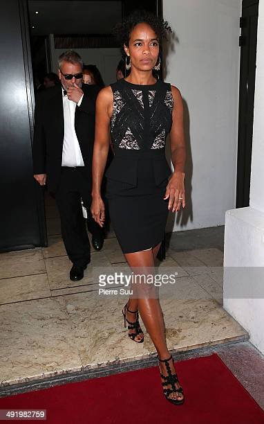 Luc Besson's wife Virginie Silla at the 'Majestic' hotel on day 5 of the 67th Annual Cannes Film Festival on May 18 2014 in Cannes France