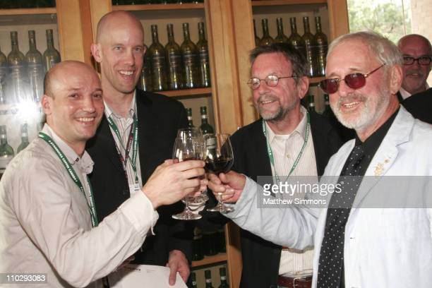 Luc Dery, Graham Parcher, David Hamilton and Norman Jewison