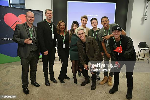 Luc Deschamps Dewayne Jones Marie Da Silva Megan Nicole Sammy Wilkinson Christian Collins Crawford Collins Melvin Gregg and Wesley Stromberg attend...