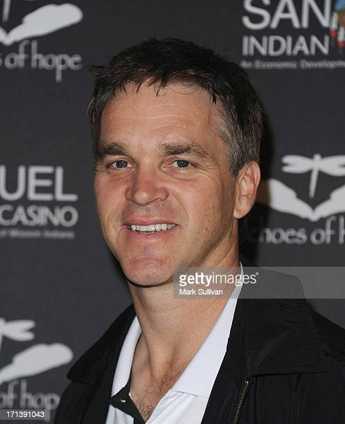 Luc Robitaille attends Echoes Of Hope's 3rd Annual Luc Robitaille Celebrity Charity Poker Tournament at JW Marriott Los Angeles at L.A. LIVE on June...