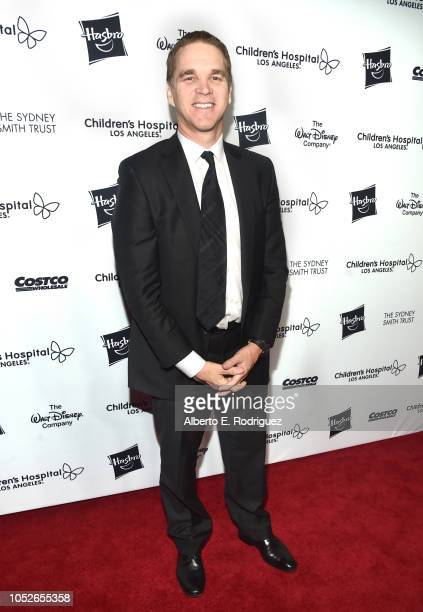 Luc Robitaille attends the 2018 Children's Hospital Los Angeles 'From Paris With Love' Gala at LA Live on October 20 2018 in Los Angeles California