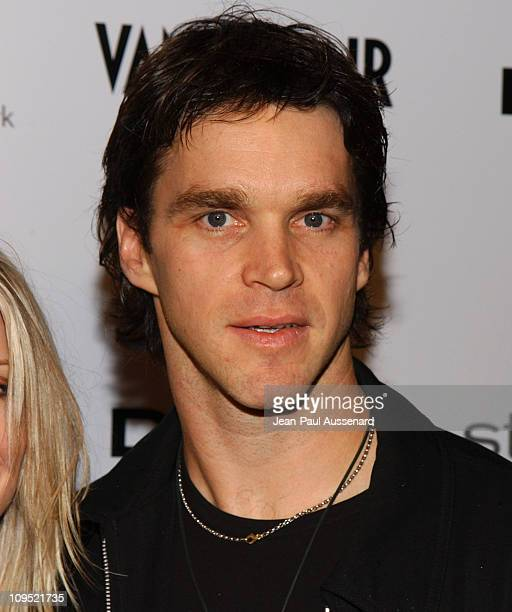Luc Robitaille during DKNY Presents Vanity Fair In Concert Featuring Camp Freddy Arrivals at Avalon Hollywood in Hollywood California United States