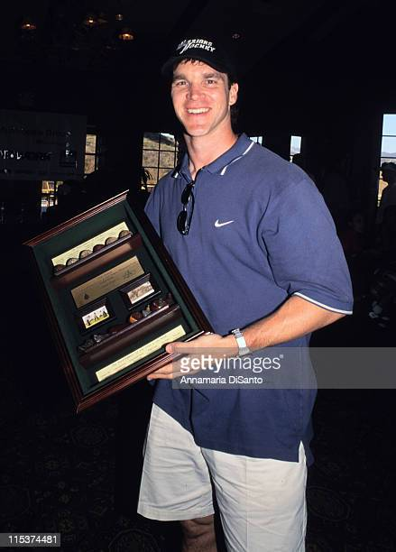 Luc Robitaille during TJ Martell Golf Tournament at Lost Canyon Golf Course in Simi Valley California United States