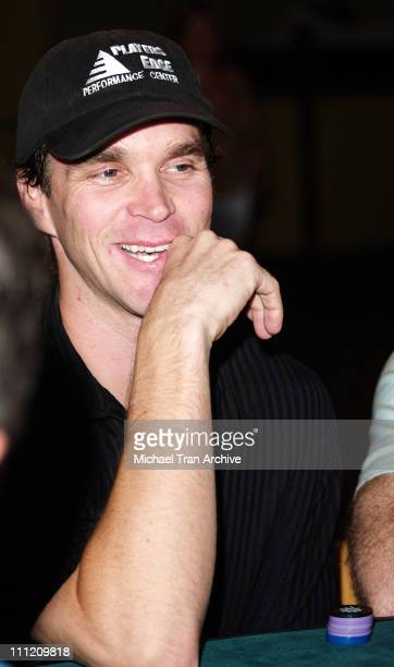 Luc Robitaille *Exclusive Coverage* during MakeAWish Foundation Benefit Aces For Wishes Celebrity Poker Tournament August 14 2005 at The Highlands...