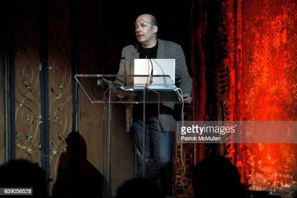 """Luc Sante attends The New York Institute for the Humanities at NYU presents """"LIBRARY OF DUST"""" by DAVID MAISEL at The Angel Orensanz Foundation on..."""