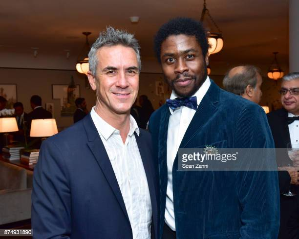 Luc Veischuren and Benjamin Le Hay attend The Aga Khan Foundation Gala at The Metropolitan Museum of Art on November 15 2017 in New York City