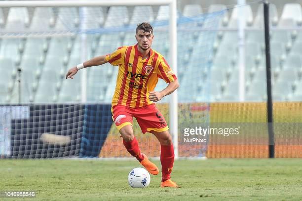 Luca Antei of Benevento Calcio during the Italian Serie B 2018/2019 match between Pescara Calcio 1936 FC and Benevento Calcio at Adriatico...