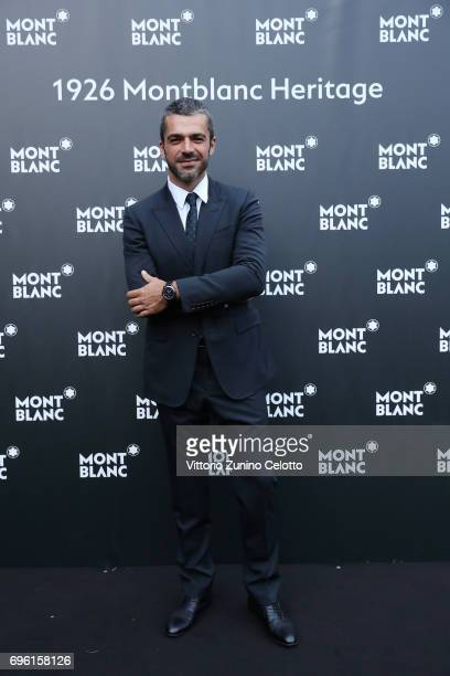 Luca Argentero attends '1926 Montblanc Heritage Launch event' on June 14 2017 in Florence Italy