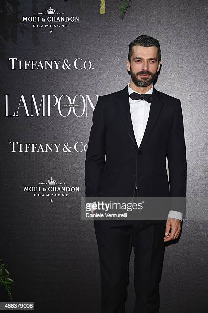 Luca Argentero attends the Lampoon Gala during the 72nd Venice Film Festival at Palazzo Pisani Moretta on September 3 2015 in Venice Italy