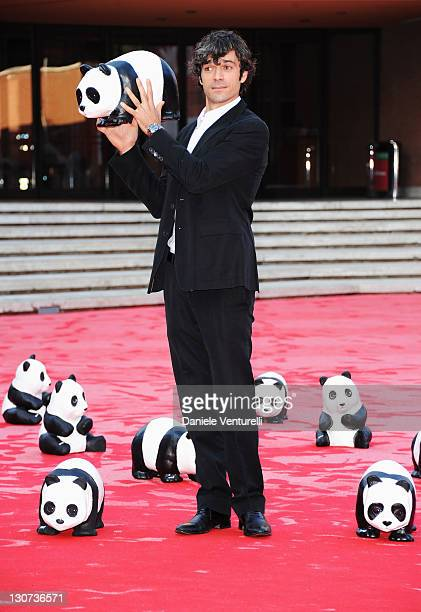 Luca Argentero attends the WWF red carpet during the 6th International Rome Film Festival at Auditorium Parco Della Musica on October 29 2011 in Rome...