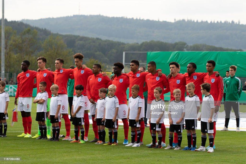 U19 Germany v U19 England - International Friendly : News Photo