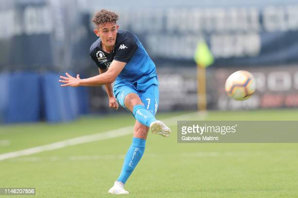 Luca Belardinelli of Empoli FC U19 in action during the Serie A Primavera match between Empoli U19 and Atalanta BC U19 on May 25 2019 in Empoli Italy