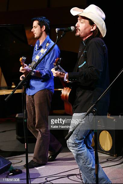 Luca Benedetti and Jorge Navarro of Cuban Cowboys during 20th Annual SXSW Film and Music Festival ME Television/DirtyChildrenUs Orange Room Day 5...