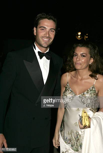 """Luca Calvani and Antonia De Mita during 2004 Venice Film Festival - Opening Night - """"The Terminal"""" Premiere - After Party at Hotel Excelsior in..."""