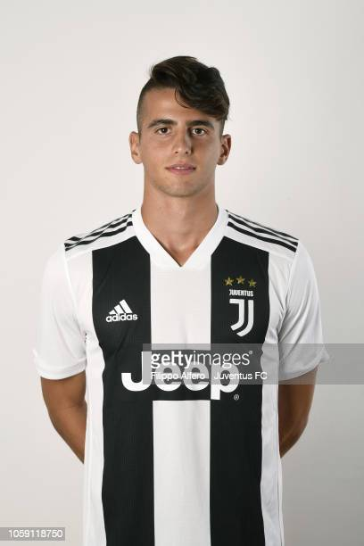 Luca Coccolo during Juventus U23 Headshots at Juventus Center Vinovo on August 31 2018 in Vinovo Italy