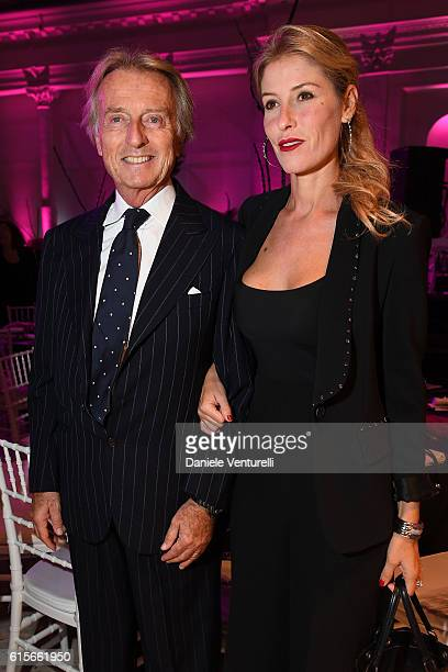 Luca Cordero di Montezemolo and Ludovica Andreoni attend the Telethon Gala during the 11th Rome Film Fest on October 19 2016 in Rome Italy