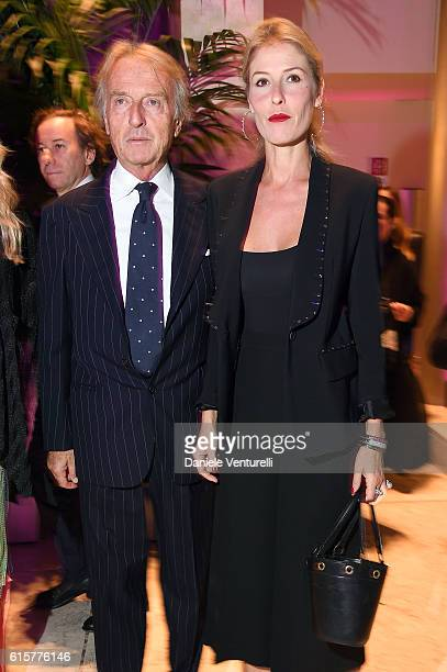 Luca Cordero di Montezemolo and Ludovica Andreoni attends the Telethon Gala during the 11th Rome Film Fest on October 19 2016 in Rome Italy