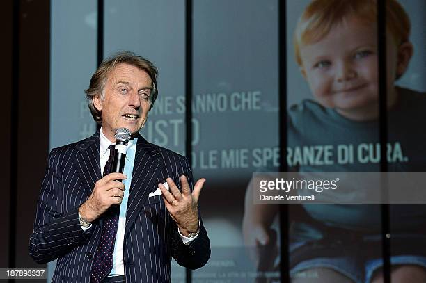 Luca Cordero di Montezemolo attends the Gala Telethon 2013 Roma during The 8th Rome Film Festival on November 13 2013 in Rome Italy