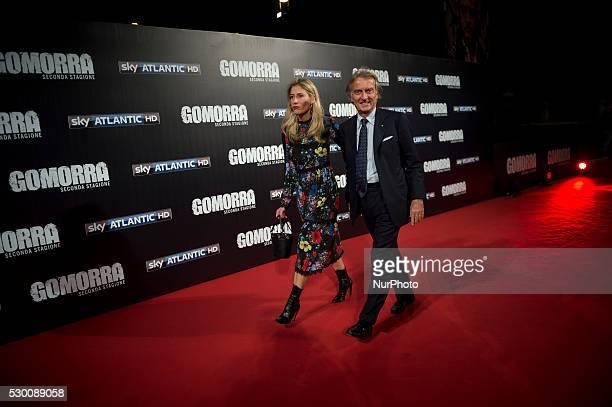 Luca Cordero di Montezemolo attends the 'Gomorra 2 - La serie' on red carpets at The Teatro dell'Opera in Rome, Italy on May 10, 2016.