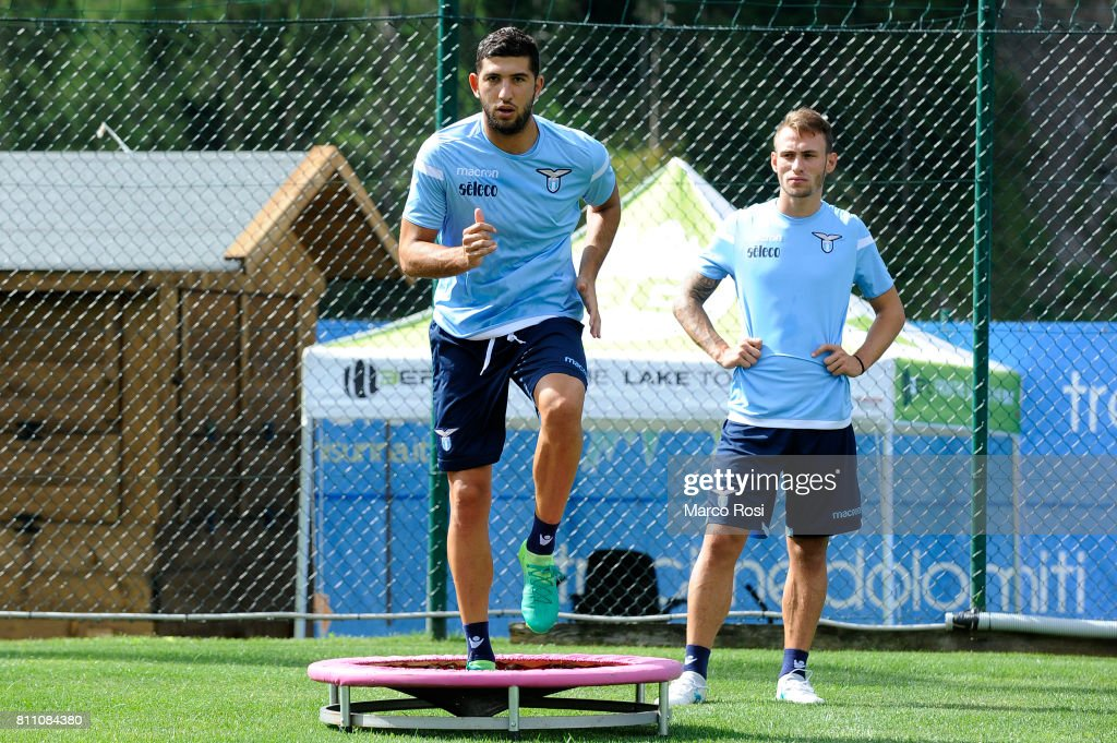 Luca Crecco of SS Lazio during the SS Lazio Training Camp - Day 1 on July 9, 2017 in Rome, Italy.