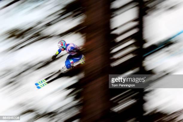 Luca De Aliprandini of Italy competes in the Audi Birds of Prey World Cup Men's Giant Slalom on December 3 2017 in Beaver Creek Colorado