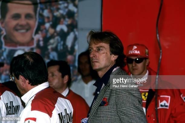 Luca di Montezemolo Michael Schumacher Grand Prix of Luxembourg Nurburgring 28 September 1997 Ferrari President Luca di Montezemolo