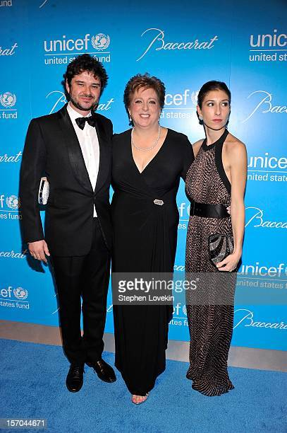 Luca Dotti and Caryl Stern attend the Unicef SnowFlake Ball at Cipriani 42nd Street on November 27 2012 in New York City