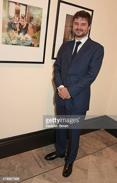 Luca Dotti attends a private view of new exhibition Audrey Hepburn Portraits Of An Icon at the National Portrait Gallery on June 29 2015 in London...